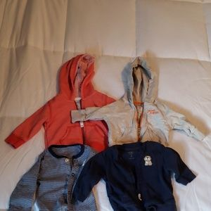 Carters 3 month sweatshirts